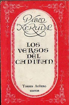 Pablo Neruda versos del capitan